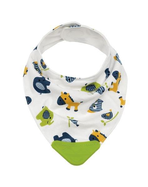 09783 bandana baby zoo com mordedor verde