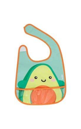 12091 babador com bolso frutti avocado