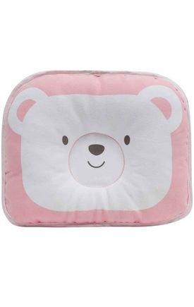 10722 travesseiro para bebe urso rosa