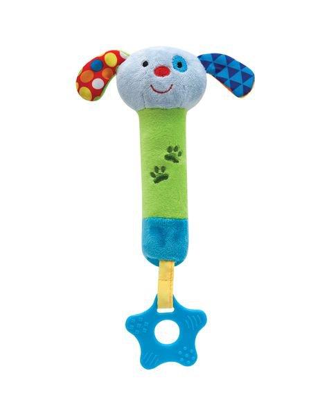 09842 buzininha com mordedor happy zoo cachorrinho