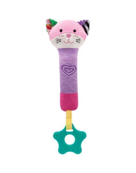 09842 buzininha com mordedor happy zoo gatinho
