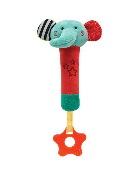 09842 buzininha com mordedor happy zoo elefantinho
