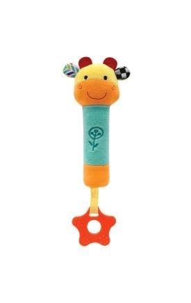 09842 buzininha com mordedor happy zoo girafinha
