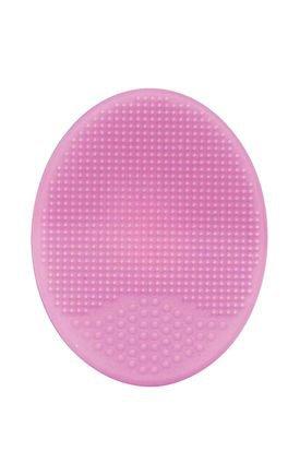 09722 escova de banho baby em silicone rosa detalhe01