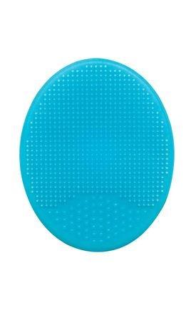 09722 escova de banho baby em silicone azul detalhe01