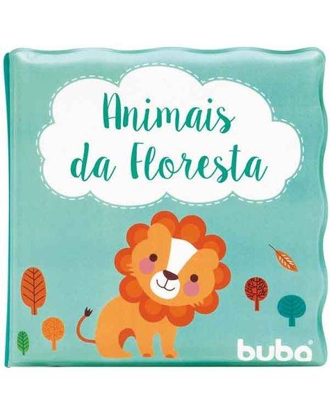 7497 livro de banho animais da floresta